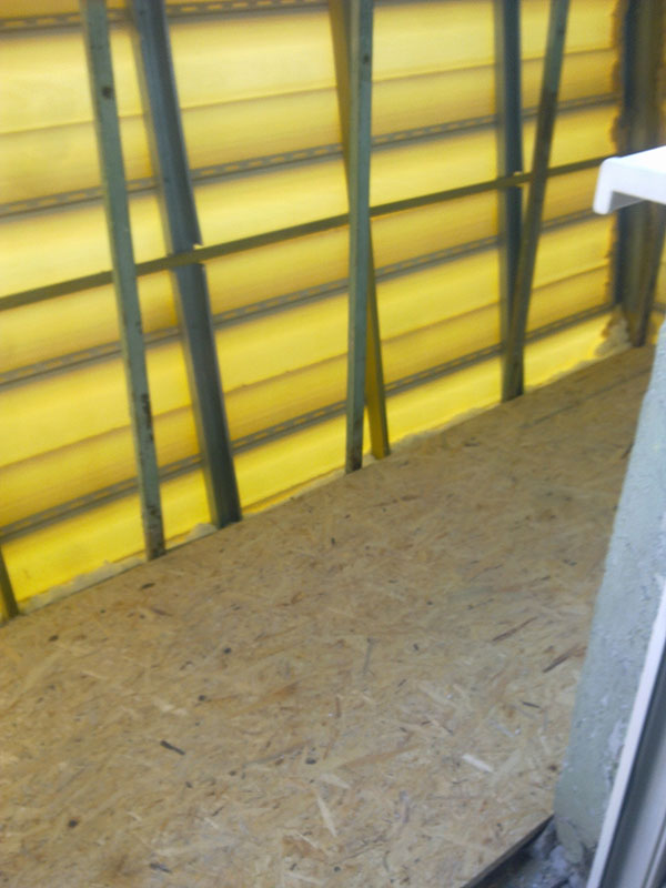 Отделка и утепление балконов и лоджий - оконные откосы для п.