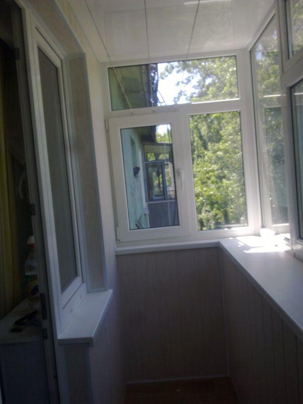 Внутренняя обшивка балконов и лоджии? с утеплением - оконные .